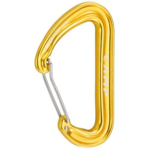 Photon Wire straight gate karabinek, kolor yellow