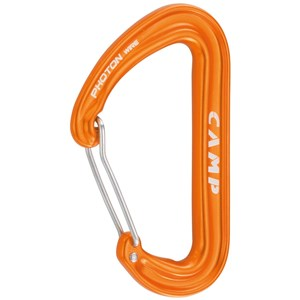Photon Wire straight gate karabinek, kolor orange